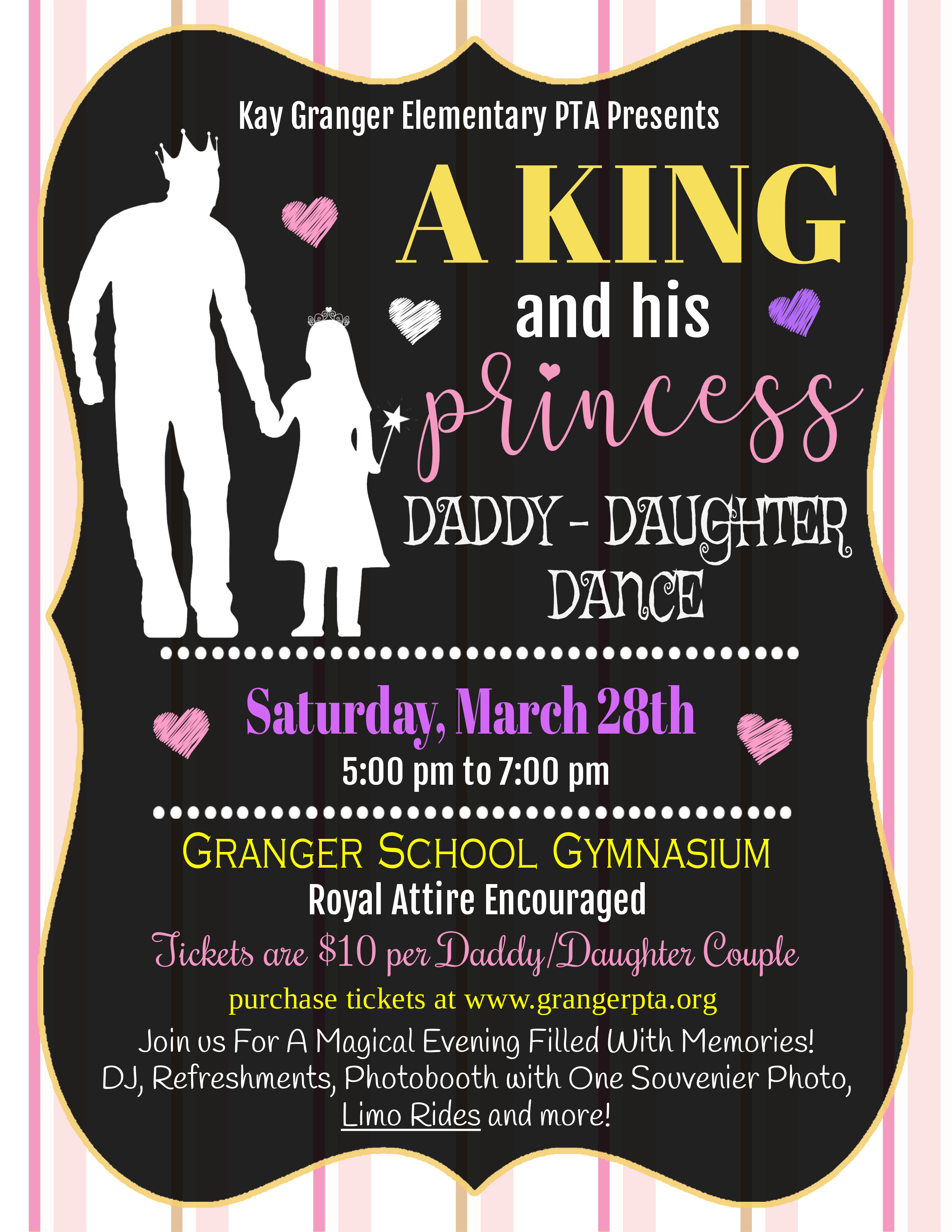 Daddy Daughter Dance 5-7pm